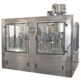 Terminar las máquinas de rellenar del refresco carbónico