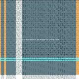 100%Polyester druckte grüne Zeile Gitter Pigment&Disperse Gewebe für Bettwäsche-Set