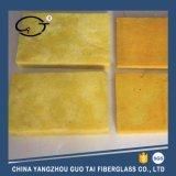 Tablero de lana de vidrio de aislamiento térmico con lámina de aluminio para la construcción
