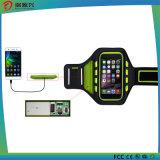 2016 bandes de poignet neuves de silicones du brassard DEL pour le cas de téléphone mobile
