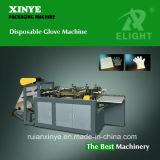 Guante plástico disponible que hace la máquina (DFJ-500)