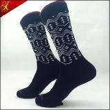 Черный хлопок дела Socks люди