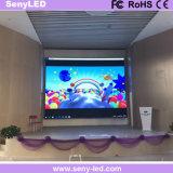 pantalla de visualización de interior de LED del alquiler de 2.5m m SMD para la etapa