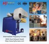 Frecuencia media de inducción no ferrosos de fusión del horno de aluminio