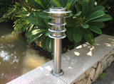 الفولاذ المقاوم للصدأ في الهواء الطلق حديقة للطاقة الشمسية مسار الخطوة السلالم الطريق ساحة الديكور مصباح للطاقة الشمسية الممر الطاقة الشمسية في الحديقة الخفيفة