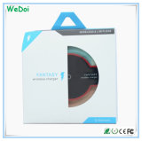 Bajo costo cargador inalámbrico Qi cristal con alta calidad (WY-CH05)