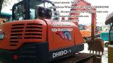 Mini excavatrice utilisée de Doosan 80, petite excavatrice 8t à vendre
