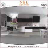 Мебель кухни самомоднейшей нержавеющей стали металла мебели дома типа установленной напольная