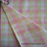 El hilado tejido del popelín de algodón teñió la tela con Lurex para las camisas/alineada Rls32-10po