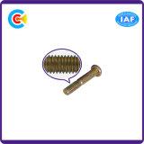 Parafusos dobro sextavados da cabeça da bandeja do aço M12/Galvanized Rod para a mobília