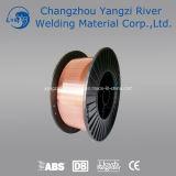 Fio de soldadura de cobre de Aws A5.18 Er70s-6 MIG