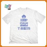 100 Mensen van de katoenen de T-shirt van de Duidelijke Partij van de Voorraad met Druk