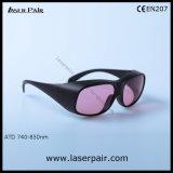 óculos de proteção da proteção dos vidros de segurança do laser do Alexandrite 755nm/laser com frame 33