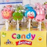 Azúcar duro del caramelo de la confitería del Lollipop del juguete del cartón