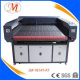1.8*1.2m de Scherpe Machine van de Laser voor de Matten van de Yoga (JM-1814t-bij)