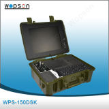 Sistema de la cámara del CCTV del monitor de Wopson 15inch con DVR/Locator