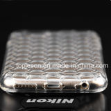 Alta caja clara del teléfono de la dimensión de una variable del diamante de la curva para el iPhone 6s