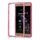 Новое прозрачное ультратонкое аргументы за Huawei P8 мобильного телефона TPU+PC