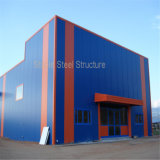 Самомоднейшее светлое здание фабрики мастерской стальной структуры с самой лучшей конструкцией