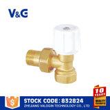Handbetrieb-Messingkühler-Ventil (VG-K13211)