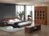 بالجملة أثر قديم خشبيّة [فيلّج] أسلوب غرفة نوم أثاث لازم أسرّة ([هإكس-لس021])