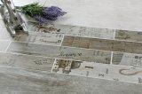 Цена плитки пола новой кухни сбывания конструкции горячей дешевой белое керамическое