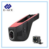 Auto carro escondido DVR de Dashcam gravador de vídeo mini WiFi com 170 graus
