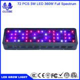LED 플랜트는 가볍게, 가득 차있는 스펙트럼 LED가 실내 플랜트를 위한 빛을 증가하는 250W 증가한다
