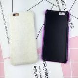 Дешевый случай iPhone 6 аргументы за мобильного телефона шерсти бархата цены