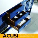 Meubles simples américains de vente chauds en gros de la meilleure qualité neufs de salle de bains de Module de salle de bains de vanité de salle de bains en bois solide de type (ACS1-W59)