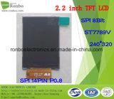 "2.2 ""240X320 Display LCD TFT Spi, St7789V, 14pin per POS, Campanello, medico"