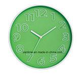 Várias cores promocionais simples atacado parede relógio