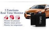 Sistemas de alarme móveis TPMS interno do carro do indicador do APP Bluetooth do sistema de vigilância sem fio da pressão de pneu do OBD TPMS