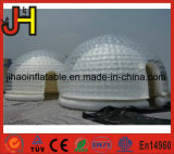 Подгонянные шатры пузыря размера раздувные белые двойные для случая