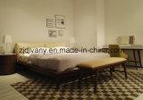 Кровать самомоднейшей кожи типа двойная (A-B39)