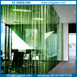 A cor Tempered manchou o Silkscreen cerâmico de vidro decorativo da impressão de Digitas da arte