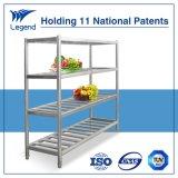 Edelstahl-Regale mit nationalem Patent