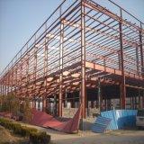 Costruzione veloce della struttura d'acciaio della costruzione con la parete ed il mezzanine del parapetto