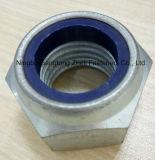 Écrous de blocage DIN985 en nylon pour l'industrie