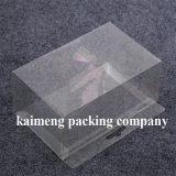 Projeto cosmético da dobradura da caixa do PVC do espaço livre plástico da oferta de China (caixa cosmética do PVC)