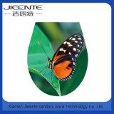 Assento de toalete da impressão do teste padrão de borboleta