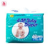 Pañal hermético disponible recién nacido del bebé del algodón suave de la oferta de la fábrica