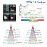 Glebe 1000W 1500W 2000W СИД растет светлый полный спектр для крытых заводов Veg и цветка