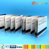Boletos de papel ultraligeros del E-boleto 13.56MHz MIFARE EV1 RFID del parque de atracciones