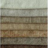 Il Chenille del poliestere gradice il tessuto da arredamento di tintura del cotone