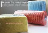 Panos resistentes da cozinha, Wipes descartáveis da limpeza, Wipes de múltiplos propósitos