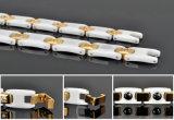 De Armband van het Roestvrij staal van de Mensen van de goede Kwaliteit met Ceramisch en Hematiet