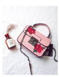 Il nuovo ricamo del progettista di arrivo 2017 fiorisce il fornitore delle borse della cartella delle signore Crossbody
