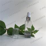 高品質のSkincareの包装のためのガラス装飾的なローションのびん(PPC-GB-011)