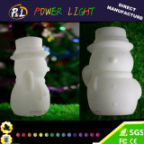 Decoración y regalo plásticos de la Navidad de la lámpara de Event&Party LED Derorative